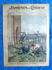 La Domenica del Corriere 7 aprile 1929 O.Niccolini - Tanganica - Cinematografo