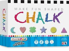 Skullduggery Cast and Paint Make Fun Shaped Chalk Casting Kit