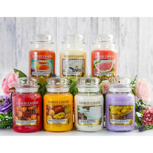 Yankee Candle Large 538 g Jar and Medium 340 g Jar Variety Scented violables