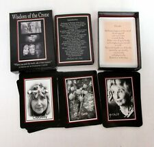 Wisdom of the Crone Card Deck Wise Woman Guidance Divination Inspiration Tarot