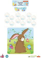 STICK THE TAIL ON THE BUNNY Game Easter Party Game Kids Family Activity Pack UK