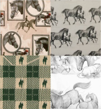 """Equestrian Horse Gift Wrap Tissue Paper, 20"""" x 30"""" 10 Sheets- Choose Design"""