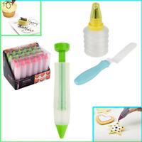 Icing Pen Bottle Syringe Spatula Cake Decorate Baking Cupcake Nozzle Cream Set