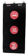 KUNG fu wing chun parete sciopero Bag in tela palmo FERRO 1 2 3 Rosso Boxe Borsa