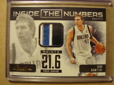 2012-13 Dirk Nowitzki Prestige Inside The Numbers Prime Patch /25