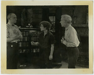 Norma Shearer in Boy Drag Early Trail of the Law 1924 Original Rare Photograph