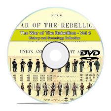 The Civil War of the Rebellion, Records, Atlas History Books Volume 4 DVD CD V89