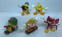 World Industries Flameboy Tech Deck Figures With Skateboards Lot Of 5