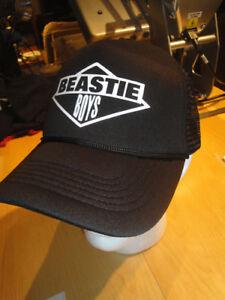 Beastie Boys Trucker Hat (snapback trucker hat-Adjustable) NWOT (Run DMC/MCA)