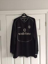 Manchester United 2000-02 LS Goalkeeper Football Shirt, L, BARTHEZ 1 on the back