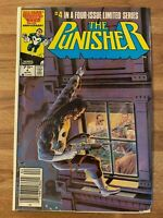 The Punisher #4 of 5 (Marvel 1986) Original Limited Series ~MIke Zeck Cover~ Key