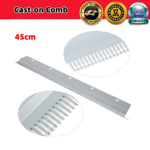 102 stitches Cast-on Comb 18/'/'//46cm for All 4.5mm//9mm Knitting Machine  ❤