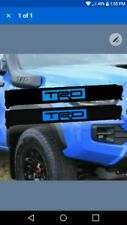 Roof Rack Pads Trd Blue lettering 30 inches