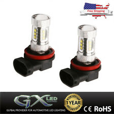 2Pcs No ERROR 80W Car Led Daytime Lamp For 11-13 Infiniti G37 Running Fog light