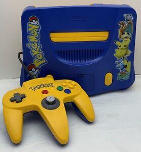 Nintendo 64 Pokémon Stadium Edition Console Complete RARE