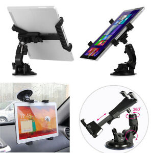 360° Universal Car Windshield Holder Desktop Mount for Tablet iPad Cellphone GPS