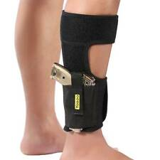 Ankle Holster Adjustable Neoprene Elastic Wrap Concealed Carry Gun Small Pistol