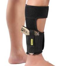 Ankle Holster Adjustable Neoprene Elastic Wrap Concealed Carry Gun Small Pistol