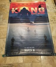 """KONG SKULL ISLAND"" Bus Shelter Poster 4' x 6'"