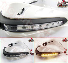 Motorcycle LED Universal Hand Guards Honda CBR250R CBR300R CB1000R-White