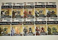 New In Packaging! Lot Set of 10 HALO Nano Metalfigs Die-Cast Metal Figures Jada