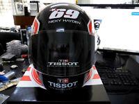 New Tissot Nicky Hayden Limited Edition 69 Red Black Helmet Watch Display