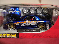 "Jada Mazda RX7 import Racer  1/24 2003 release NIB""APEX"" logo extra tires/hood"