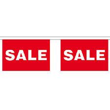 Vendita GIGANTE Bunting (30 GRANDI BANDIERE) 22.75 M negozio al dettaglio di firmare BANDIERA