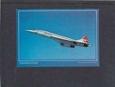 GB Concorde picture post card postally used