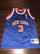 De Colección campeón John Starks Knicks Jersey jóvenes medio 10/12