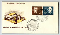 Germany 1959 BONN Cacheted FDC / Unaddressed - Z13184