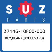 37146-10F00-000 Suzuki Key,blank(boulevard) 3714610F00000, New Genuine OEM Part