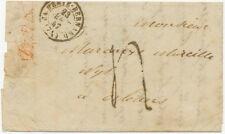 "2144 FRANCE 1847, small taxed so-called LADY COVER ""LA-FERTE-BERNARD / (71)"""