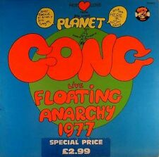 LP Planet GONG - Live Floating Anarchy 1977 - # L 736 - washed - cleaned