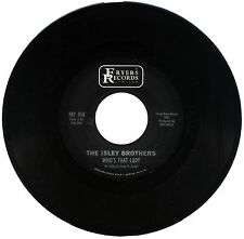 "ISLEY BROTHERS  ""WHO'S THAT LADY""   ALL TIME CLASSIC SOUND"