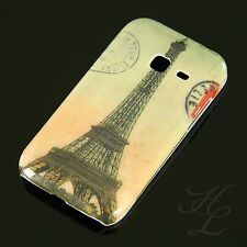 Samsung Galaxy Ace Duos s6802 Hard Case Cellulare Cover Astuccio TORRE EIFFEL COLORATA