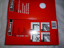 Fliegengitter BFG 1 weiß B: 130 cm x H: 150 cm aus strap. Polyestergewebe NEU