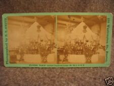Odd Fellows E.F. Smith I.O.O.F. Stereoview Photograph cdii