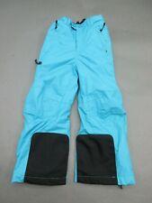 REI Size XXS(4-5) Girls Blue Insulated Waterproof Warm Snow/Ski Pants 953