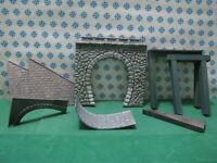 Vintage H0  - Parti per Realizzare un Ponte  + 2 Telai in legno -  Kibri