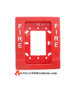 EST GENESIS G1RT-FIRE TRIM PLATE RED (PLASTIC), FREE SHIPPING THE SAME DAY