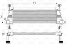 Ladeluftkühler VALEO 818352 für FORD