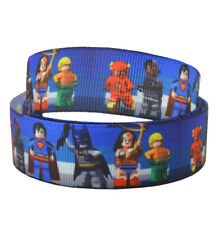 Lego Marvel Cake Ribbon Gift Wrap Party Bags Superman Batman Robin 2M X 22MM