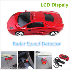 360°Camera Detector Car Speed Radar Laser Detection Alarm Alert Voice System Red