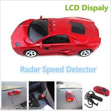 360°Camera Detector Car Speed Radar Laser Detection Alarm Alert Voice System Red