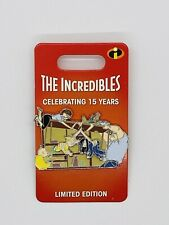 New Disney Parks The Incredibles 15th Anniversary Pin Limited Edition Of 3000