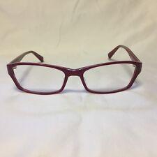 1e9d03c4a2 Prodesign Denmark Eyeglass Frames 1691 c.4022 Red Print 54-16 140mm