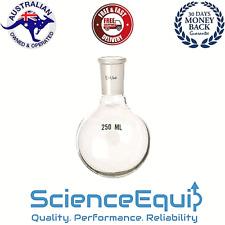 Borosilicate Glass Round Bottom Flask Jointed Single Neck - 250ml, 24/29 N/S