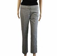 Miu Miu By Prada Size 38 Blend Virgin Wool Cashmere Tailored Woman Pants