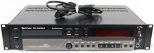 Tascam Cd-Rw900 Cd Recorder Player Mp3 Playback Rackmount